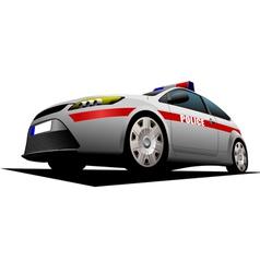 Al 1115 police car vector