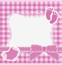 Baby pink vector