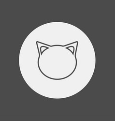 cat icon sign symbol vector image