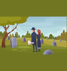 Death services ritual ceremony after dying loss vector