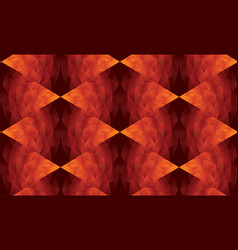 Dragon skin inspired repeat motif for background vector