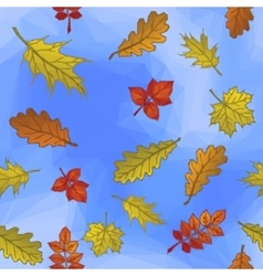 Leaves and Blue Sky vector