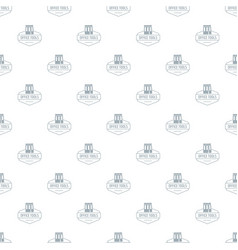 office tool pattern seamless vector image