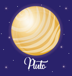 Solar system design vector