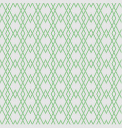 Tile pattern with green pattern on grey background vector