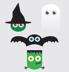 Halloween Eyes vector image vector image