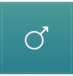Male sign icon vector image