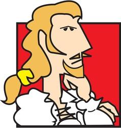 Nobleman cartoon vector image vector image