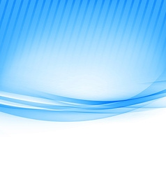 Blue border abstract wave soft background vector image