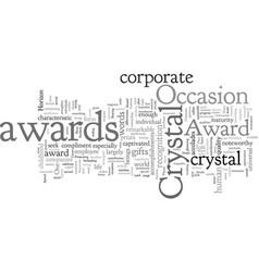 Corporate awards vector