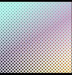 Gradient abstract halftone dot pattern background vector