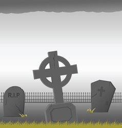 grave vector image