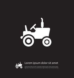 isolated agronomy icon husbandry element vector image