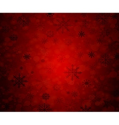 Merry Christmas holidays red 1 vector image