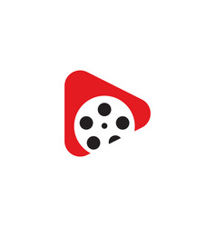 movie logo vector image