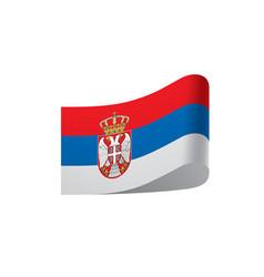 Serbia flag vector