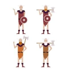 Set barbarians vector