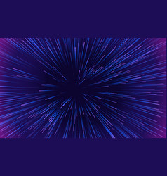 space speed motion light pattern background vector image