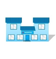 Building hospital vector image vector image