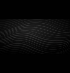 abstract background wavy lines vector image