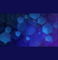 abstract shine geometric background vector image
