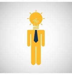 big idea design vector image