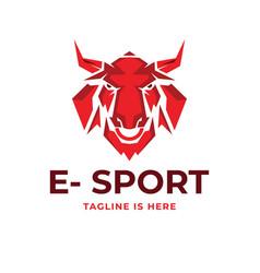 buffalo sport logo vector image