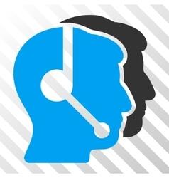 Call Center Operators Icon vector