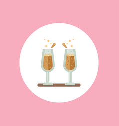 champagne icon sign symbol vector image