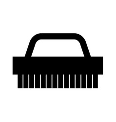 cleaning brush icon vector image