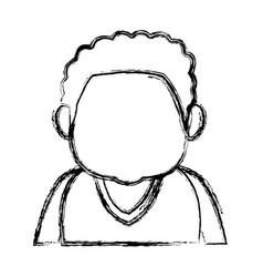 Man character people avatar male cartoon vector