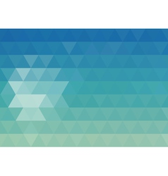 Mosaic geometry abstract background vector