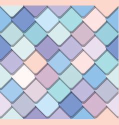 trendy fresco mosaic seamless background in vector image