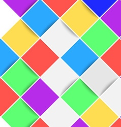 Bright web color tile background layout vector image