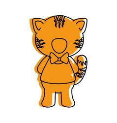 cartoon animals design vector image