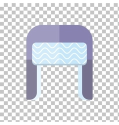 Winter hat isolated vector