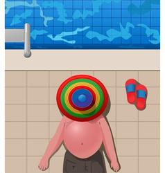 under the sombrero vector image vector image
