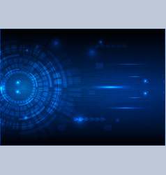 Digital technology circuit abstract background vector