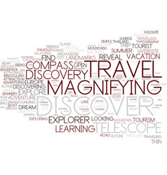 Discover word cloud concept vector