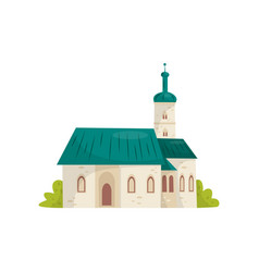flat icon of st mark s catholic church vector image