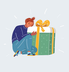 Gifts and presents concept vector