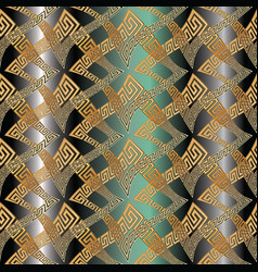 greek rhombus frames seamless pattern vector image