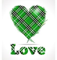 Green love vector
