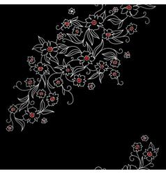 japan floral vector image