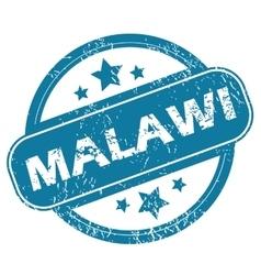 MALAWI round stamp vector