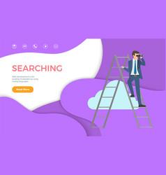 Searching web development website using coding vector