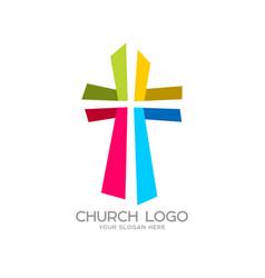 Cross of the savior jesus christ vector