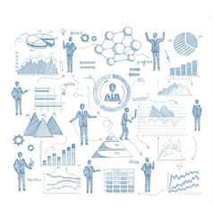 Sketch Management Concept vector image