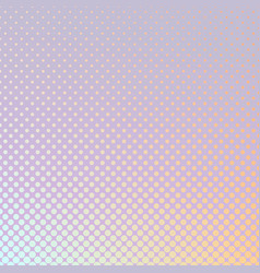 Abstract geometric gradient halftone dot pattern vector