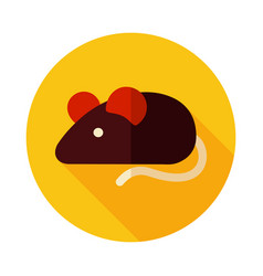 field mouse icon vector image